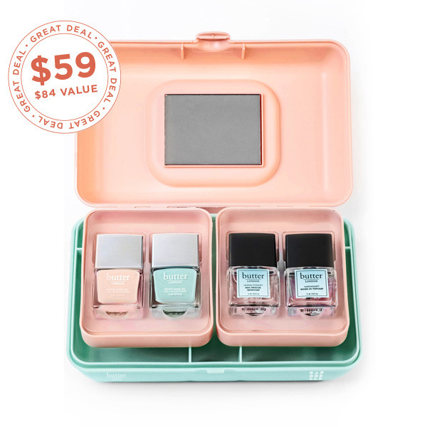 butter LONDON X Caboodles